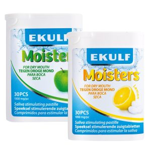 Moisters by EKULF – Saliva Stimulating Lozenges – Box 12pcs